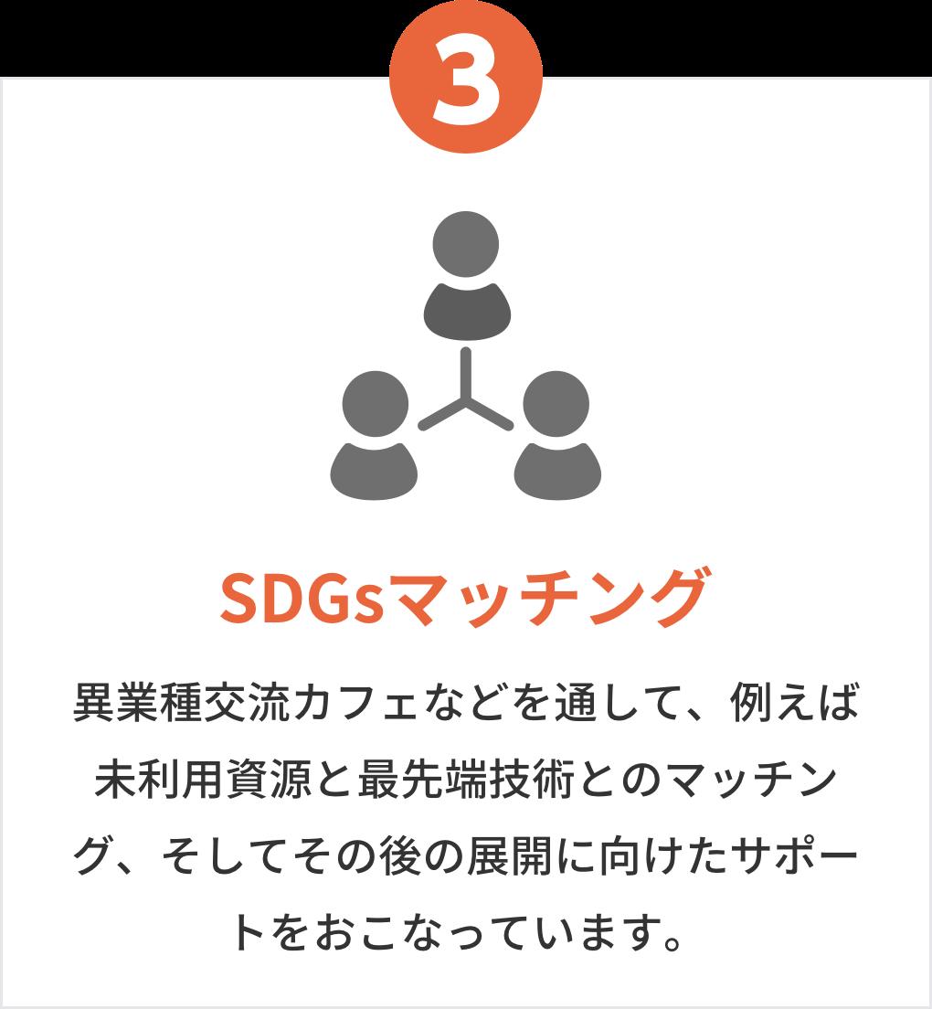 SDGsマッチング